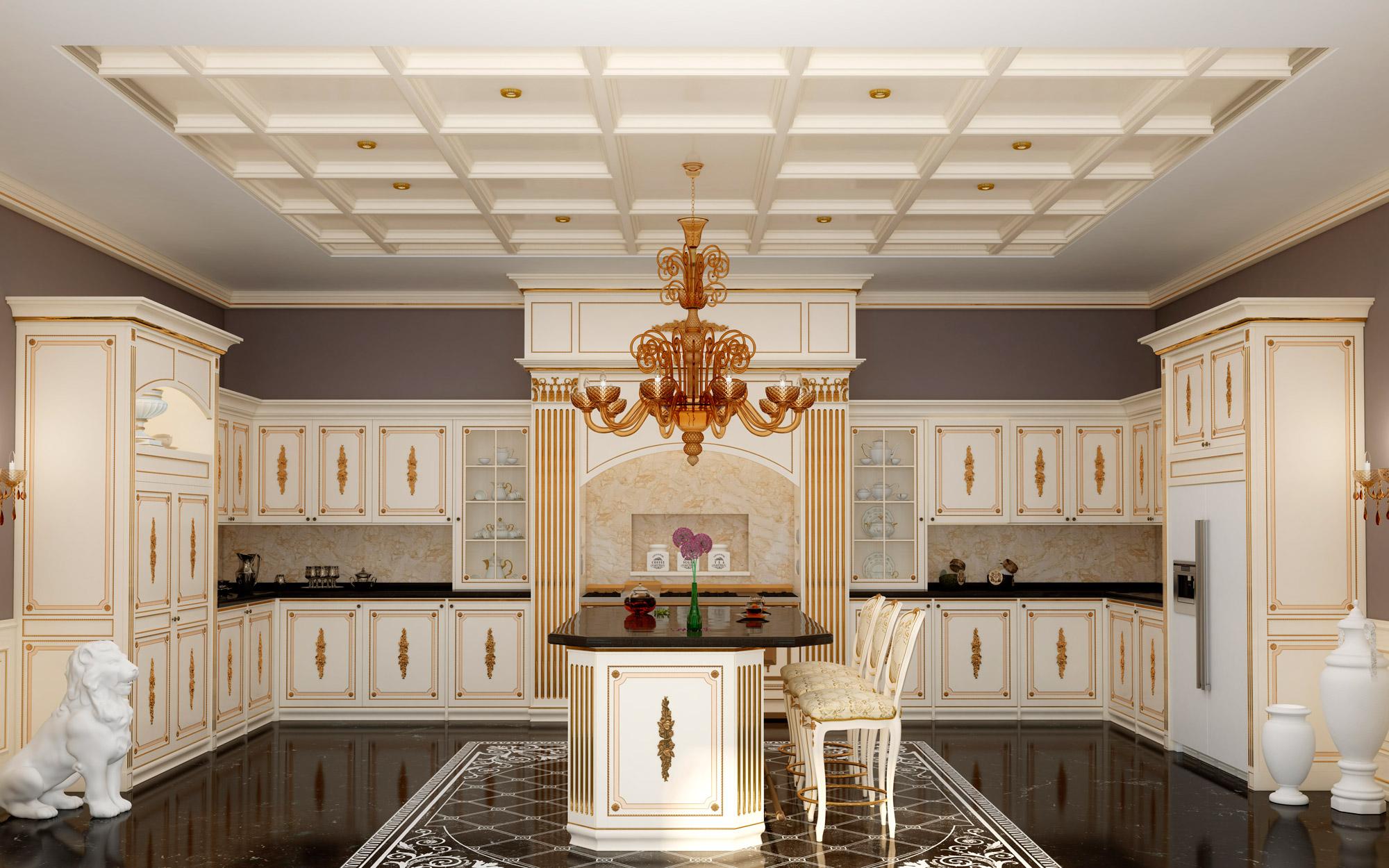 Cucina su misura classica olga vimercati meda for Arredamenti classici eleganti