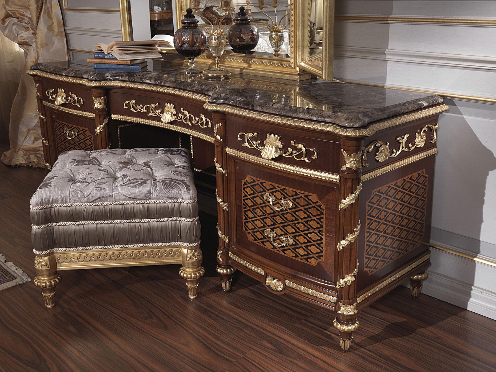 camera da letto classica 700 italiano e toilette luigi xv vimercati meda. Black Bedroom Furniture Sets. Home Design Ideas