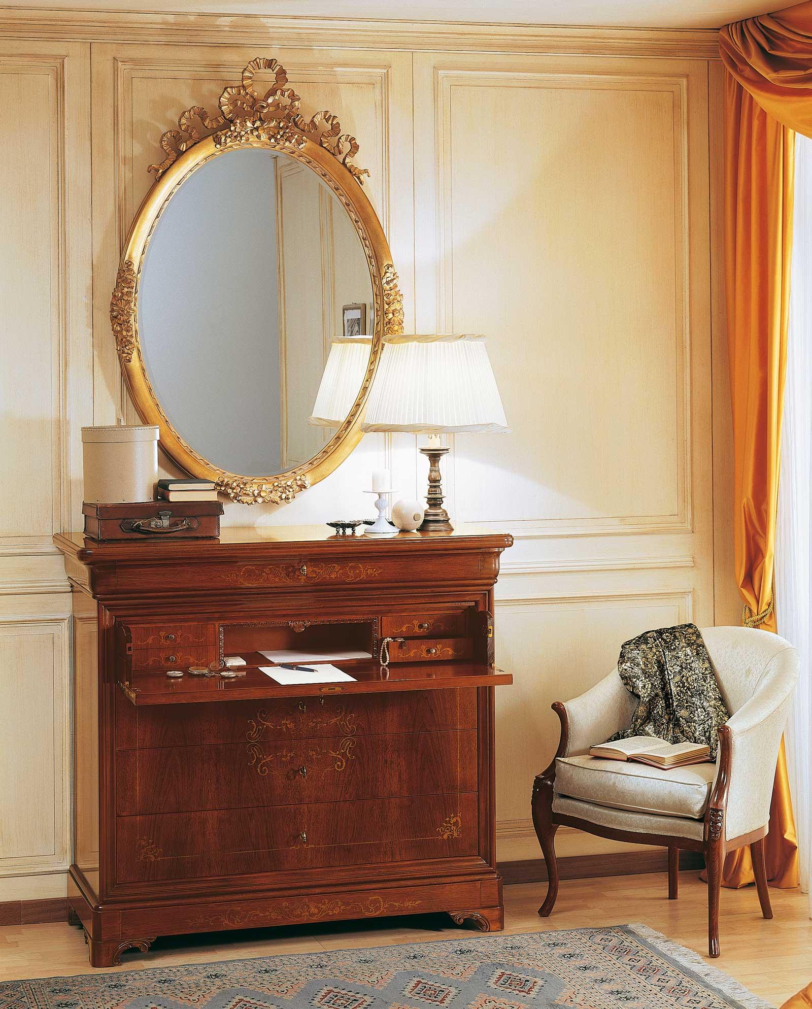 Camera da letto 800 francese trumeau intarsiato e - Camera da letto francese ...