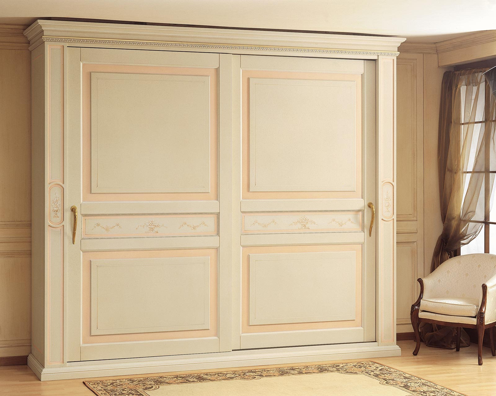 Armadio classico canova ante scorrevoli vimercati meda - Armadio camera da letto ante scorrevoli ...