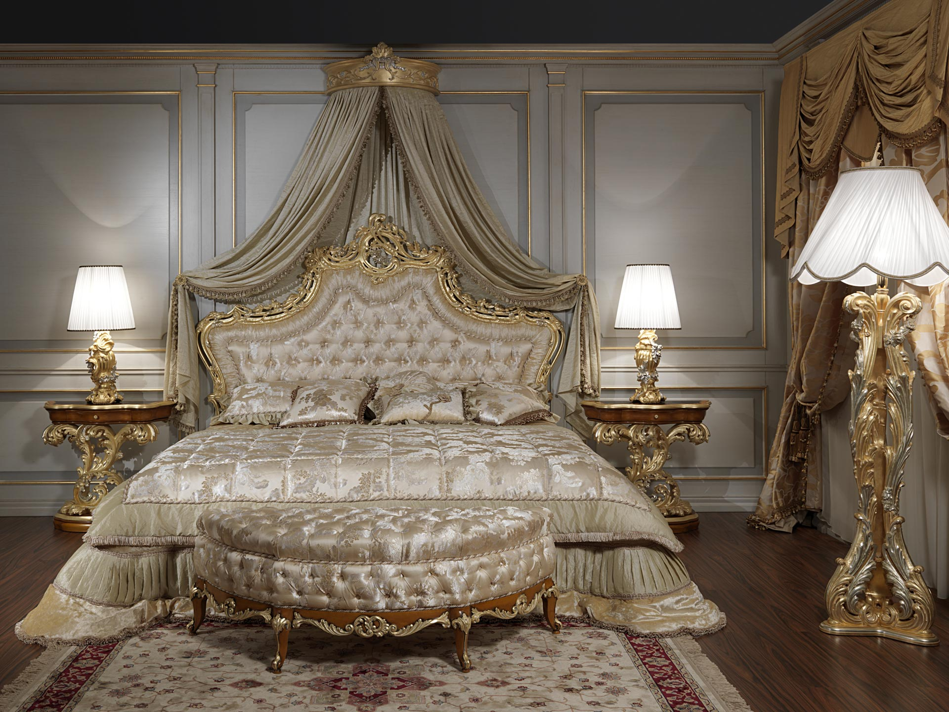Roman baroque bed art 2012  Vimercati Meda