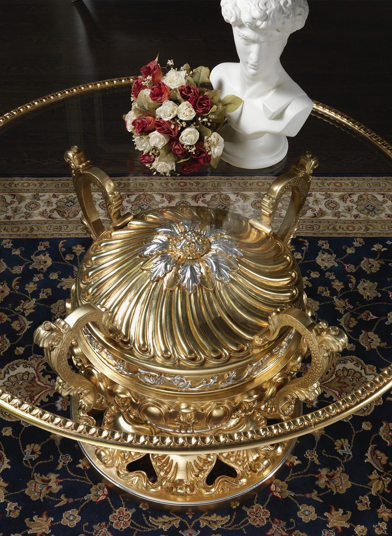 Tavolo Classico Cristallo Vimercati Meda #A67F25 1095 1500 Sale Da Pranzo Classiche Roma