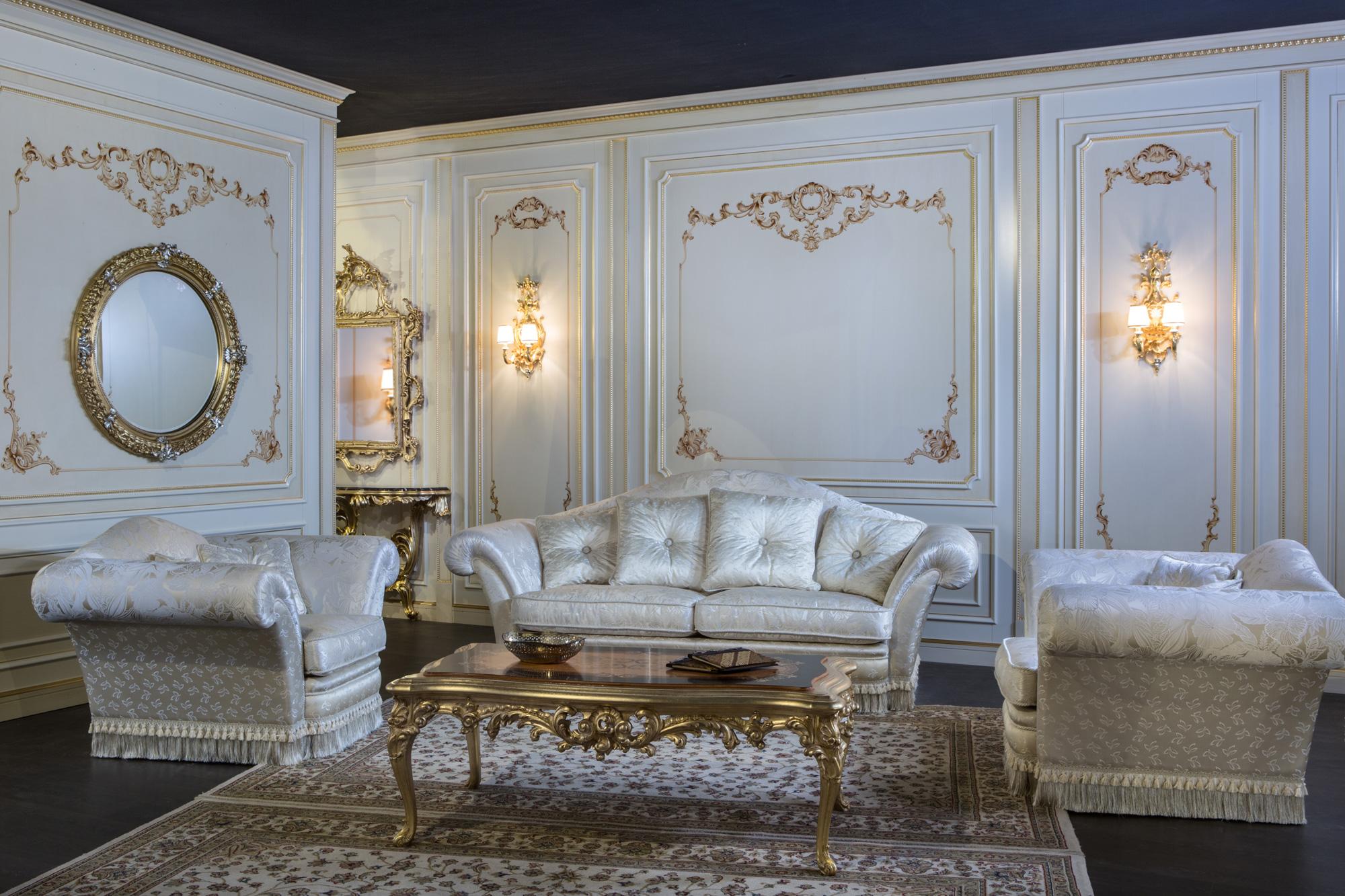 Divano e poltrone per salotto di lusso vanity vimercati meda