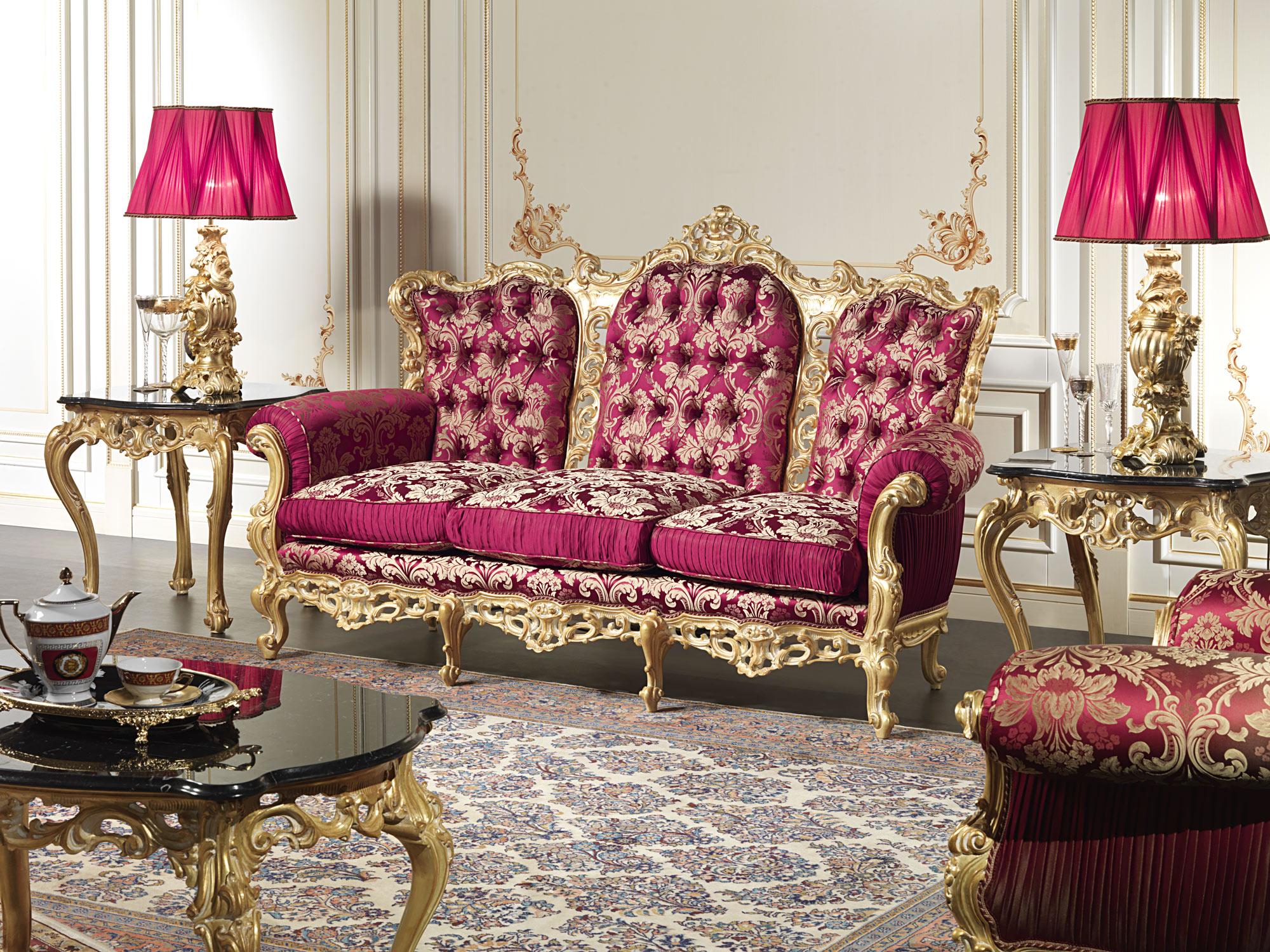 divano barocco vimercati meda