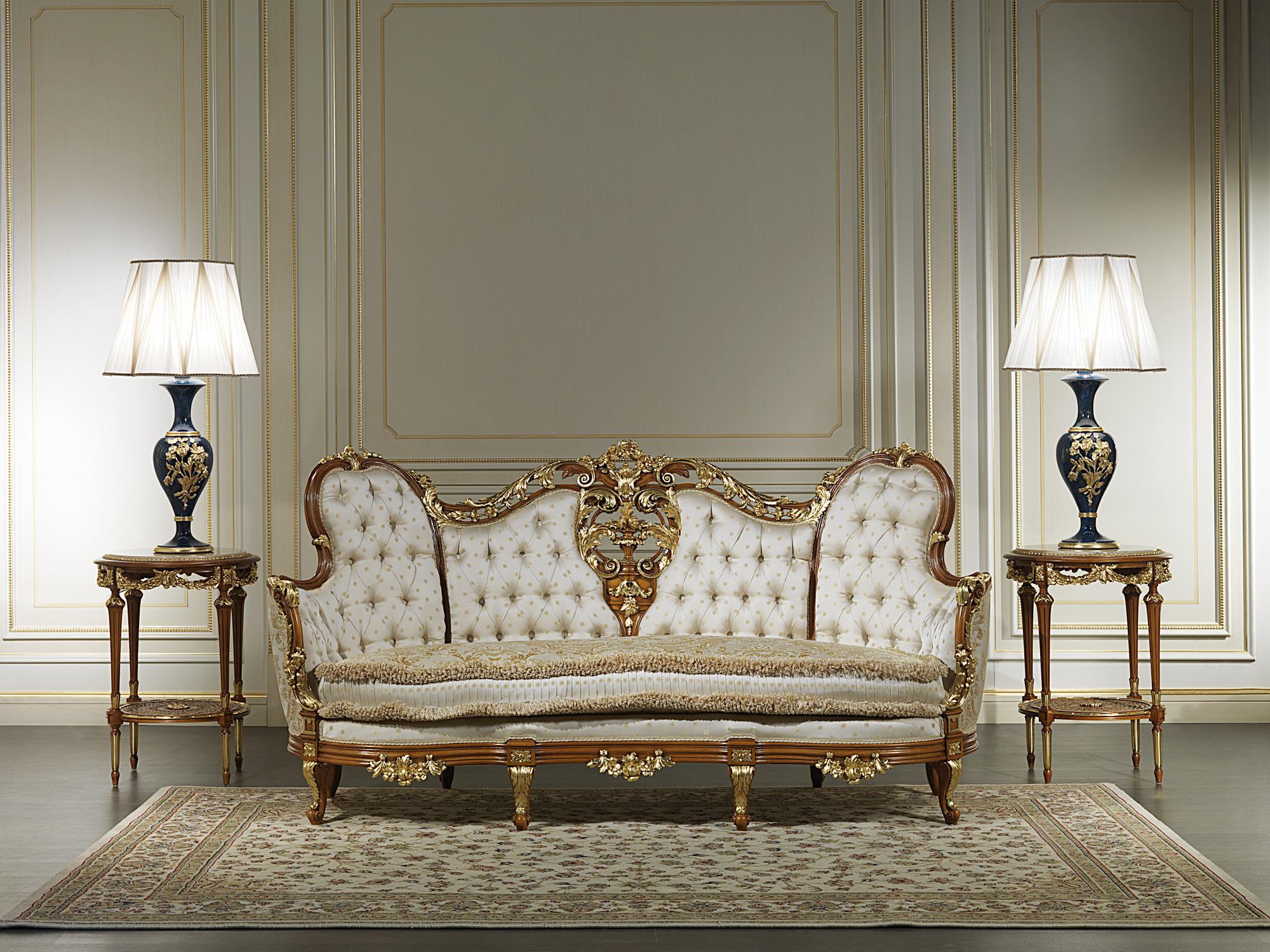 Divano ottocento di lusso vimercati meda - Divano classico lusso ...