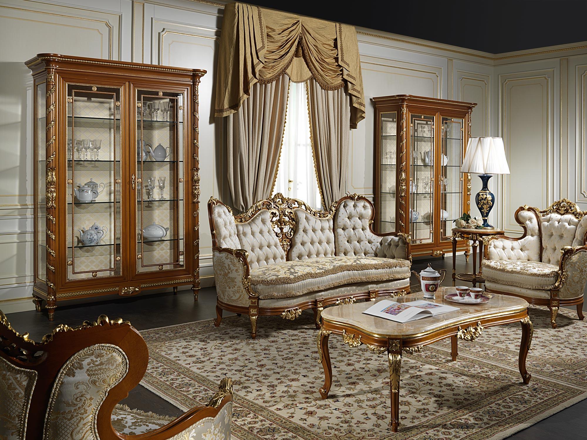 Salotto di lusso 800 vimercati meda for Salotto mobili