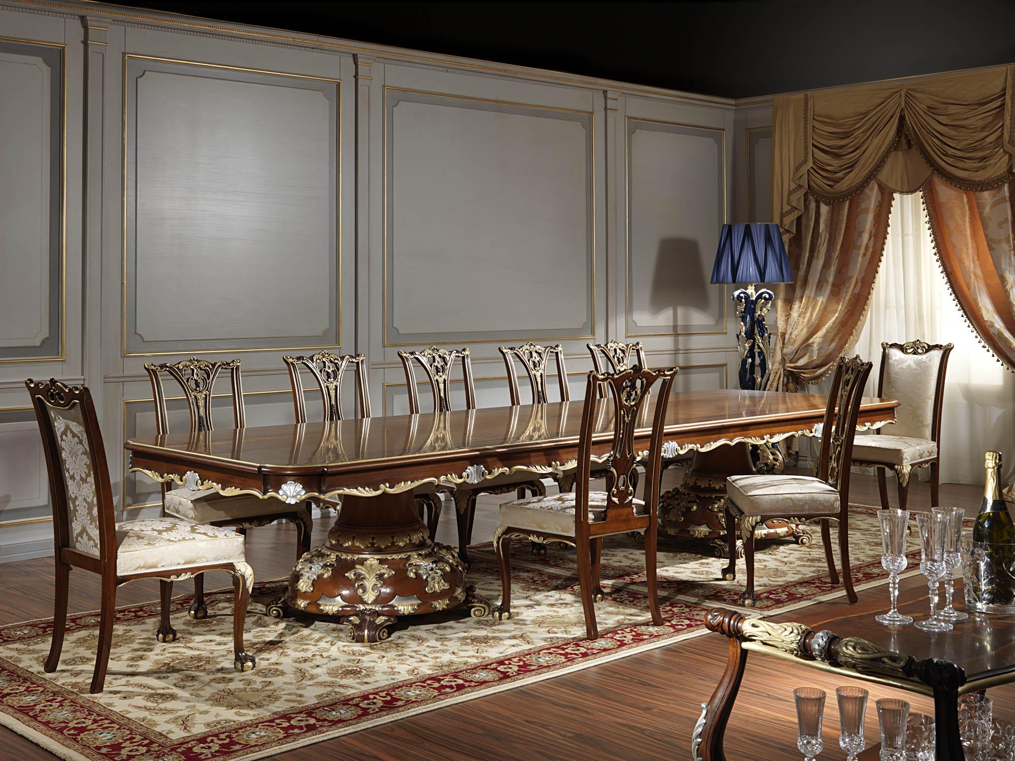 Sala da pranzo in stile classico Luigi XV | Vimercati Meda