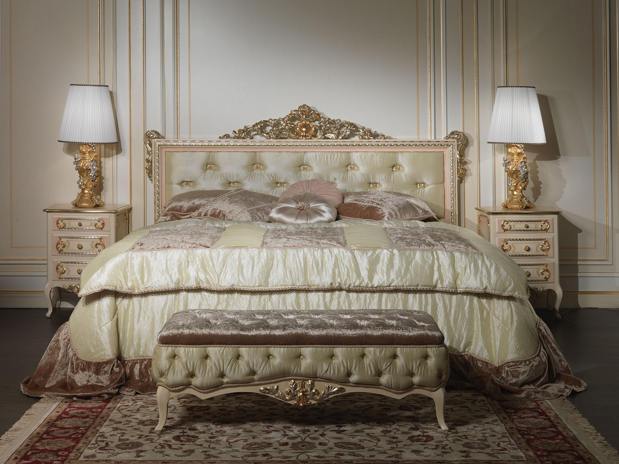 Letto matrimoniale stile classico louvre 943 vimercati meda - Misure letto matrimoniale italiano ...
