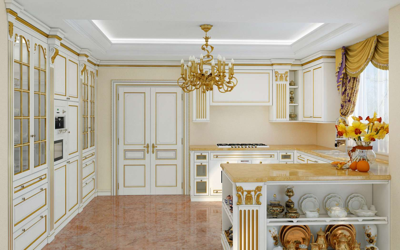 Cucina di lusso modello Legacy | Vimercati Meda