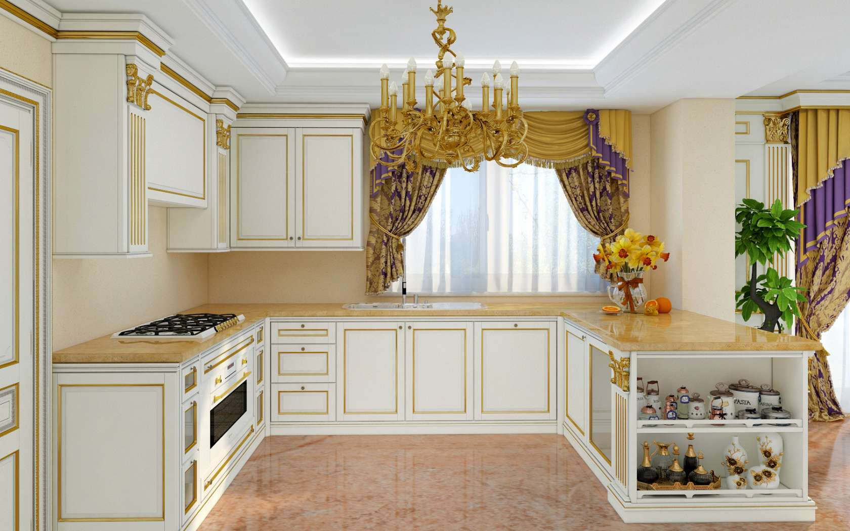 Cucine Di Lusso Classiche : Cucina di lusso classica modello legacy vimercati meda