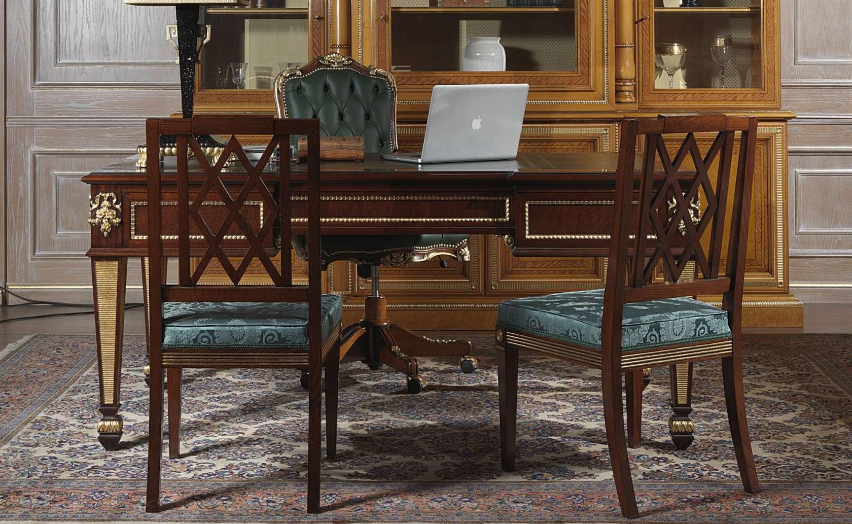 Sedie Ufficio Classiche.Sedie Per Ufficio In Stile Classico Vimercati Meda