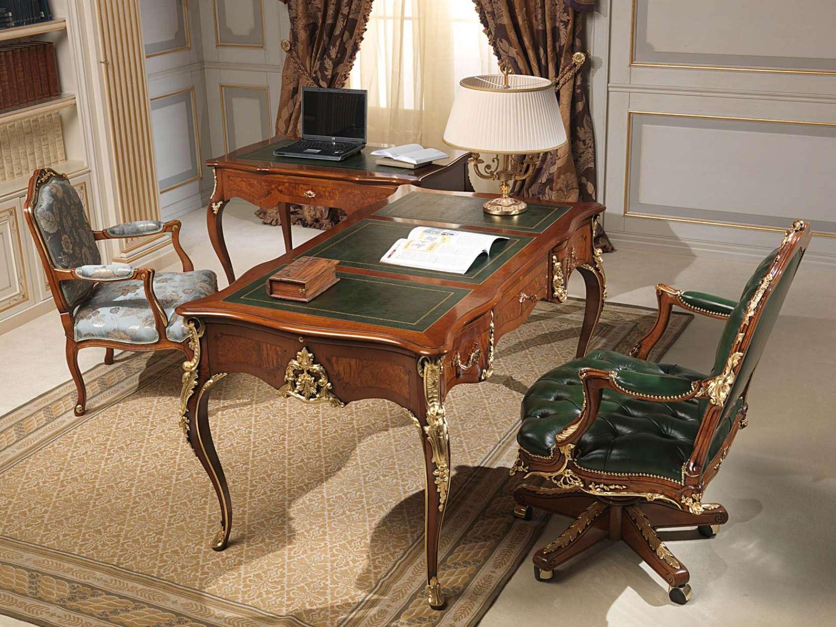 Studio classico stile luigi xv vimercati meda for Scrivania avvocato