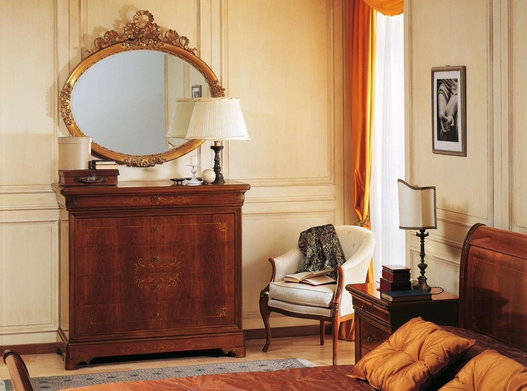 Camera da letto classica \'800 Francese | Vimercati Meda