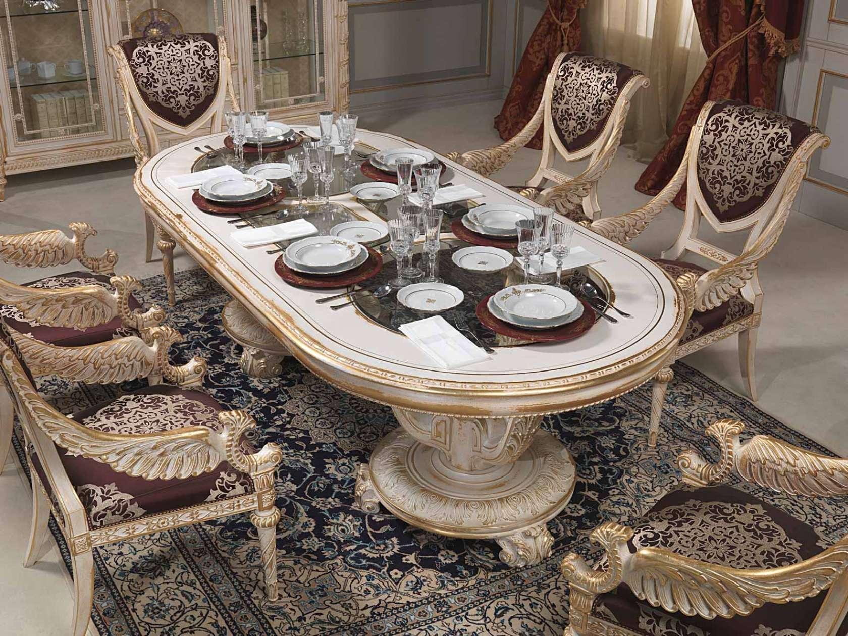 Per La Collezione Di Arredo Classico Di Lusso Per La Sala Da Pranzo  #80684B 1680 1260 Sedie Per Sala Da Pranzo Classiche