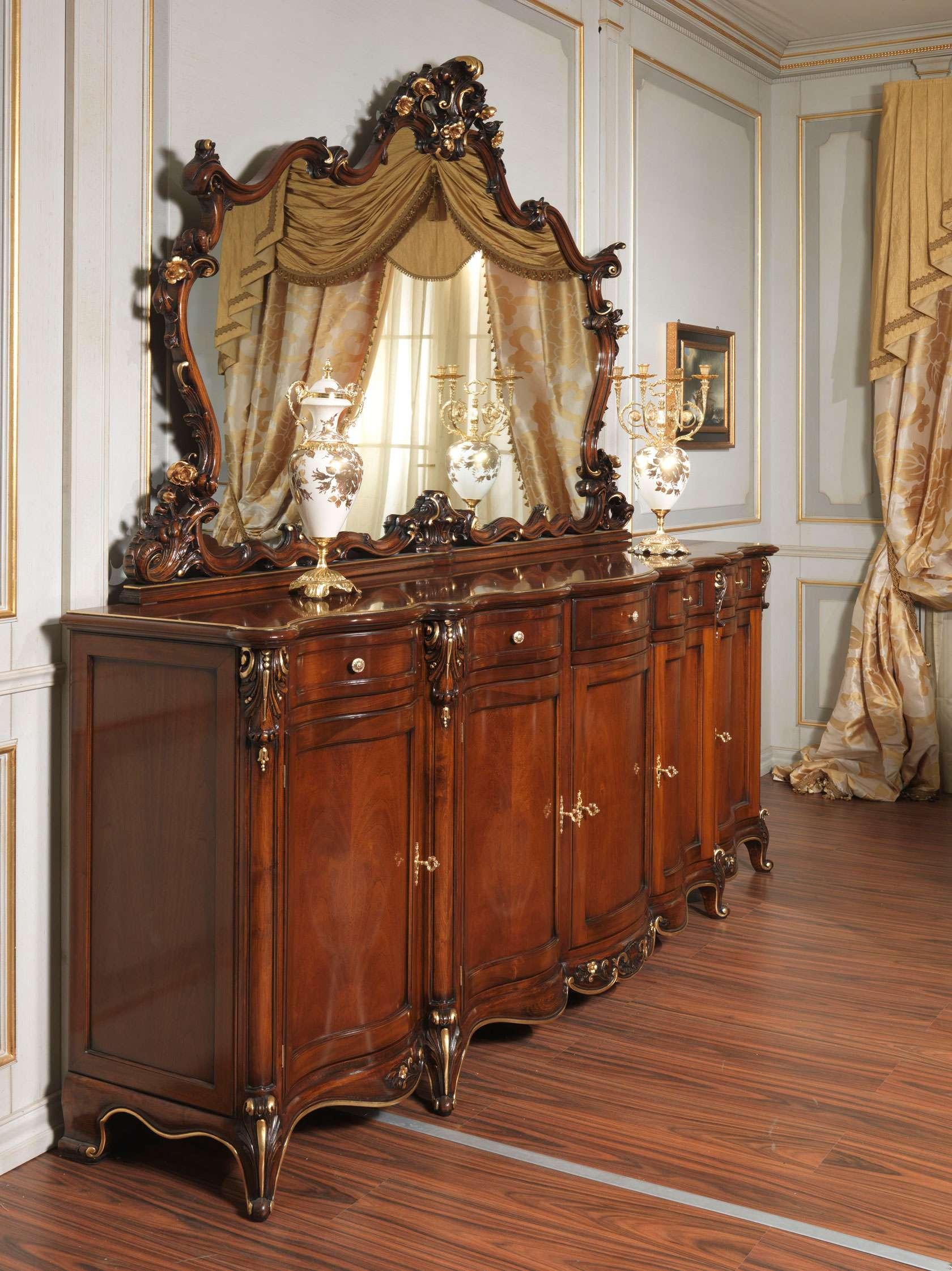 Credenza Parigi in stile Luigi XV | Vimercati Meda