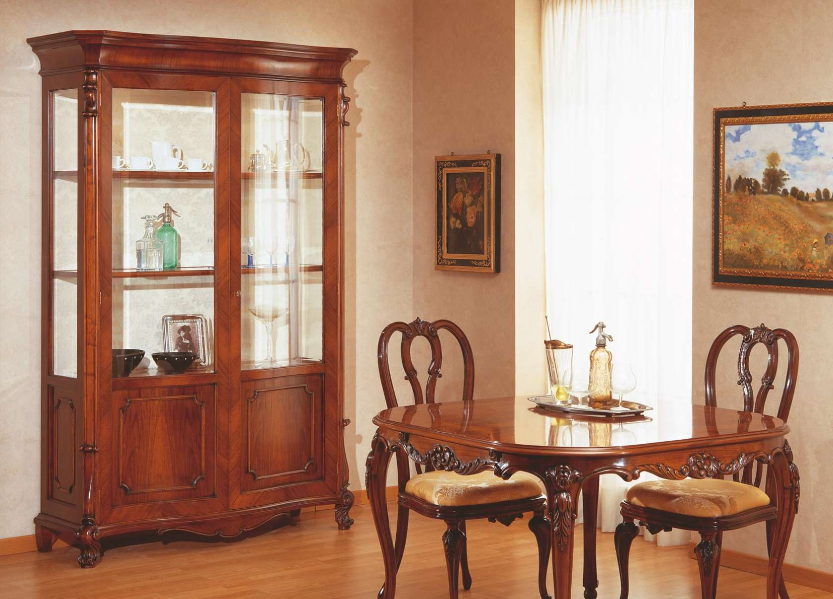 tavolo e vetrina 700 siciliano vimercati meda