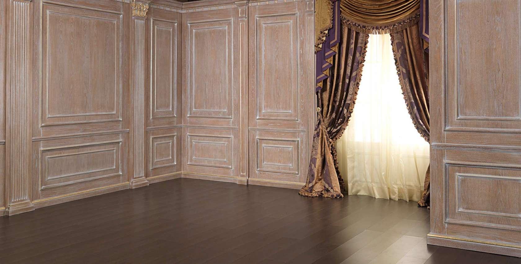 Boiserie con colonne vimercati meda - Camera da letto con boiserie ...
