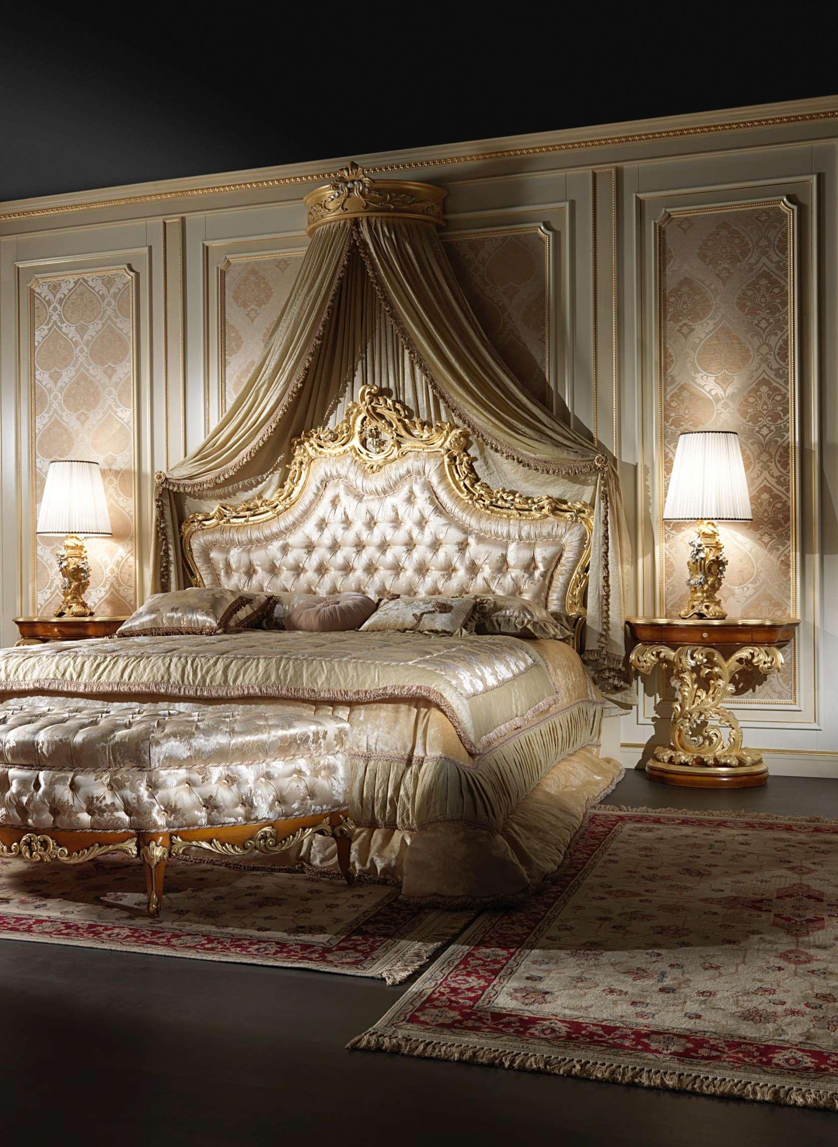 Elegant baroque bed | Vimercati Meda