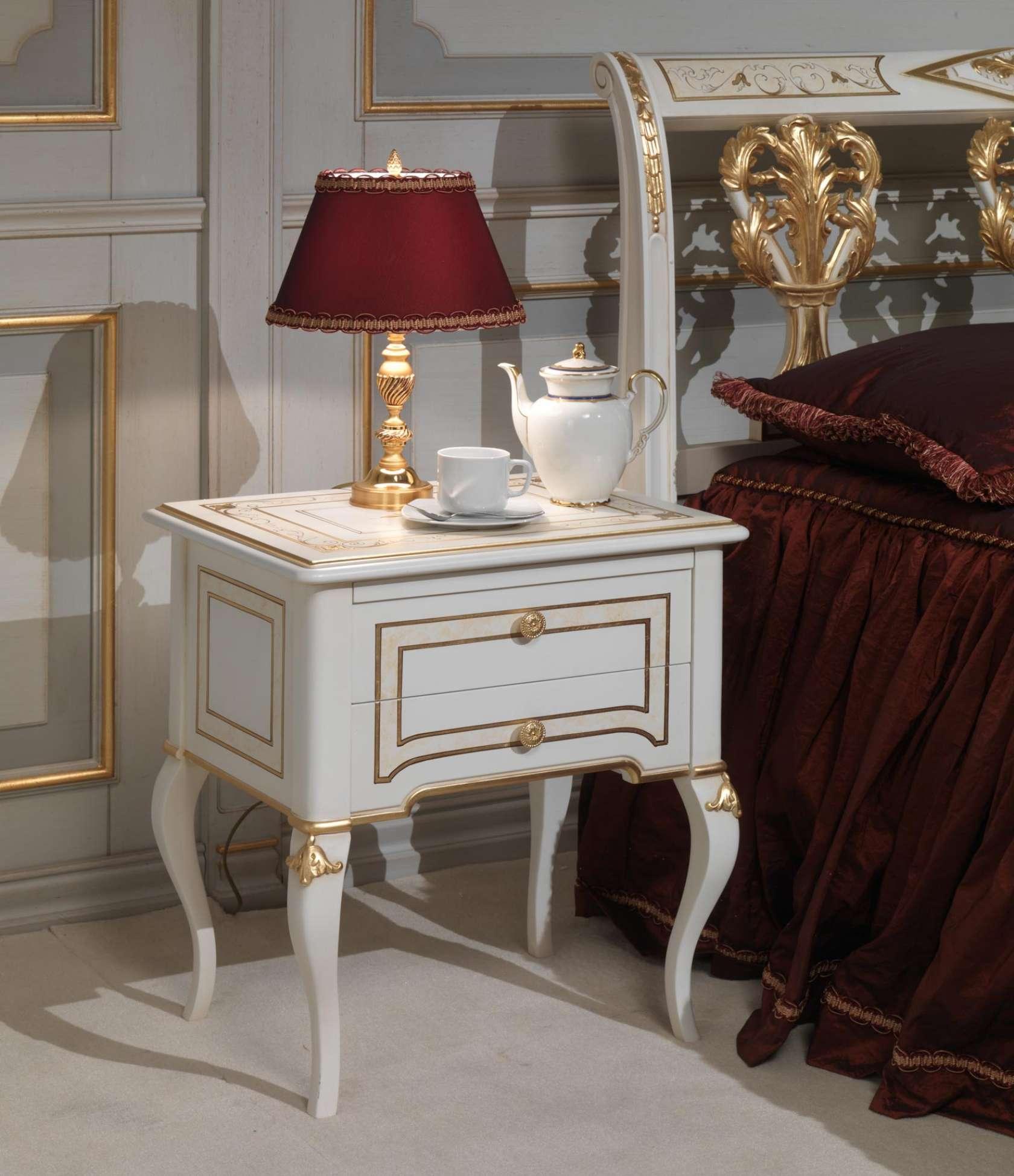 Camera da letto classica rubens in stile 700 francese - Camera da letto in francese ...