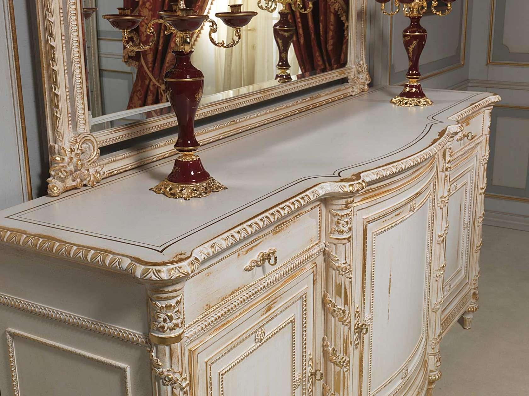 Credenza intagliata in stile Luigi XVI | Vimercati Meda