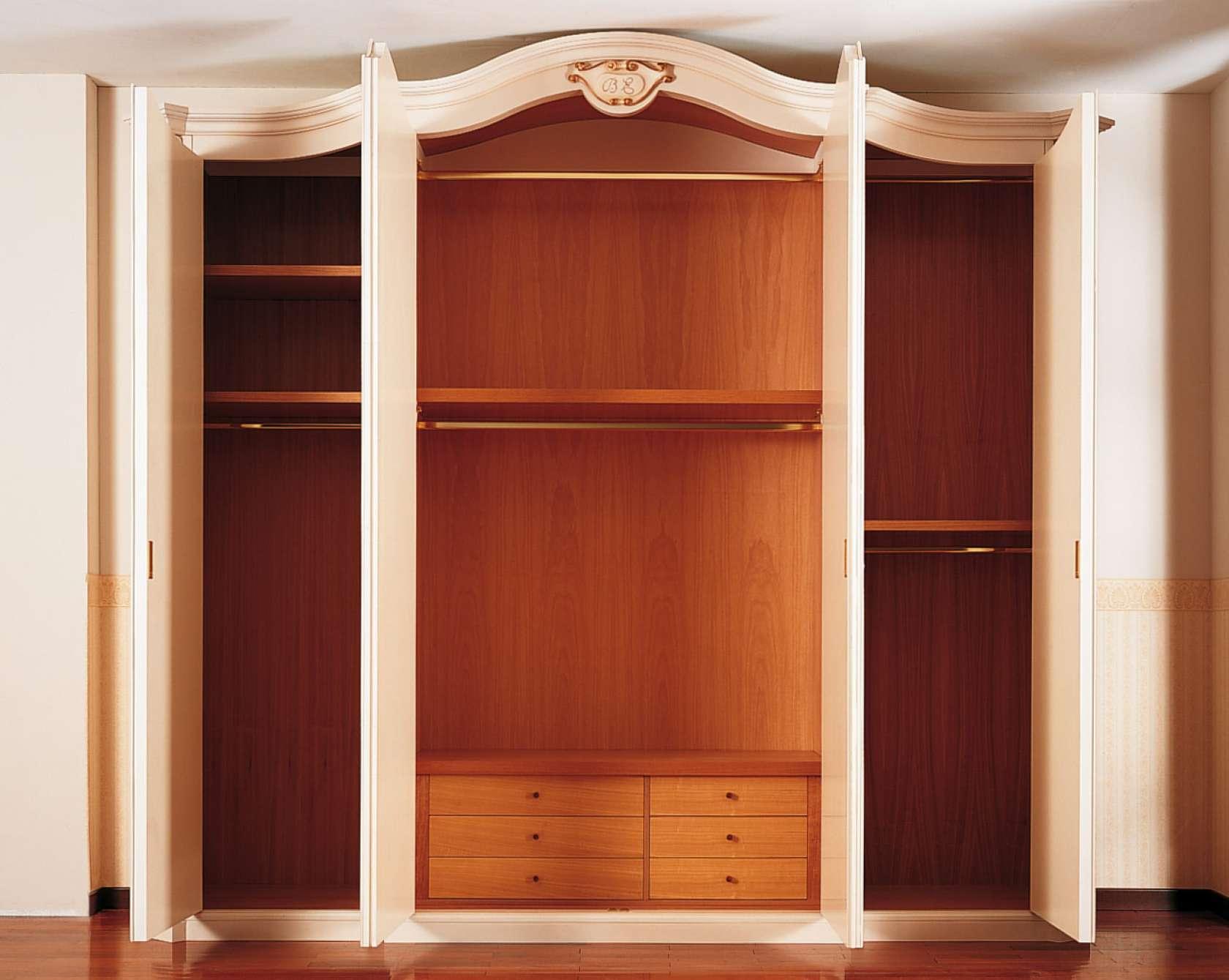 Armadio classico settecento interno in legno vimercati meda - Armadio interno ...