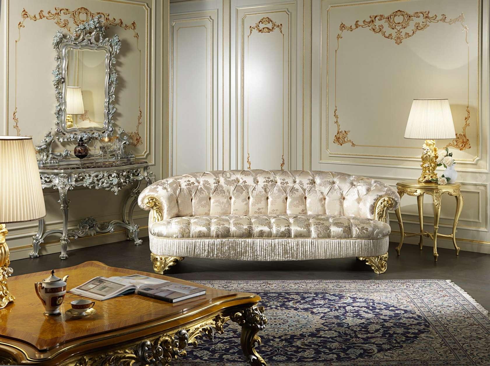 Divano Salotto.Divano Salotto Classico Parigi Vimercati Meda