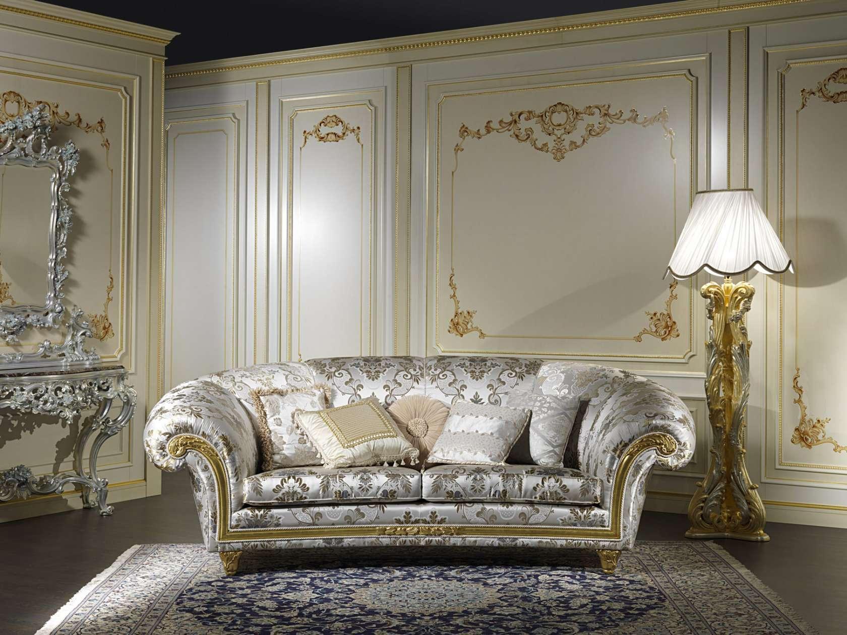 Mobili per salotto in stile classico palace vimercati meda for Salotto mobili