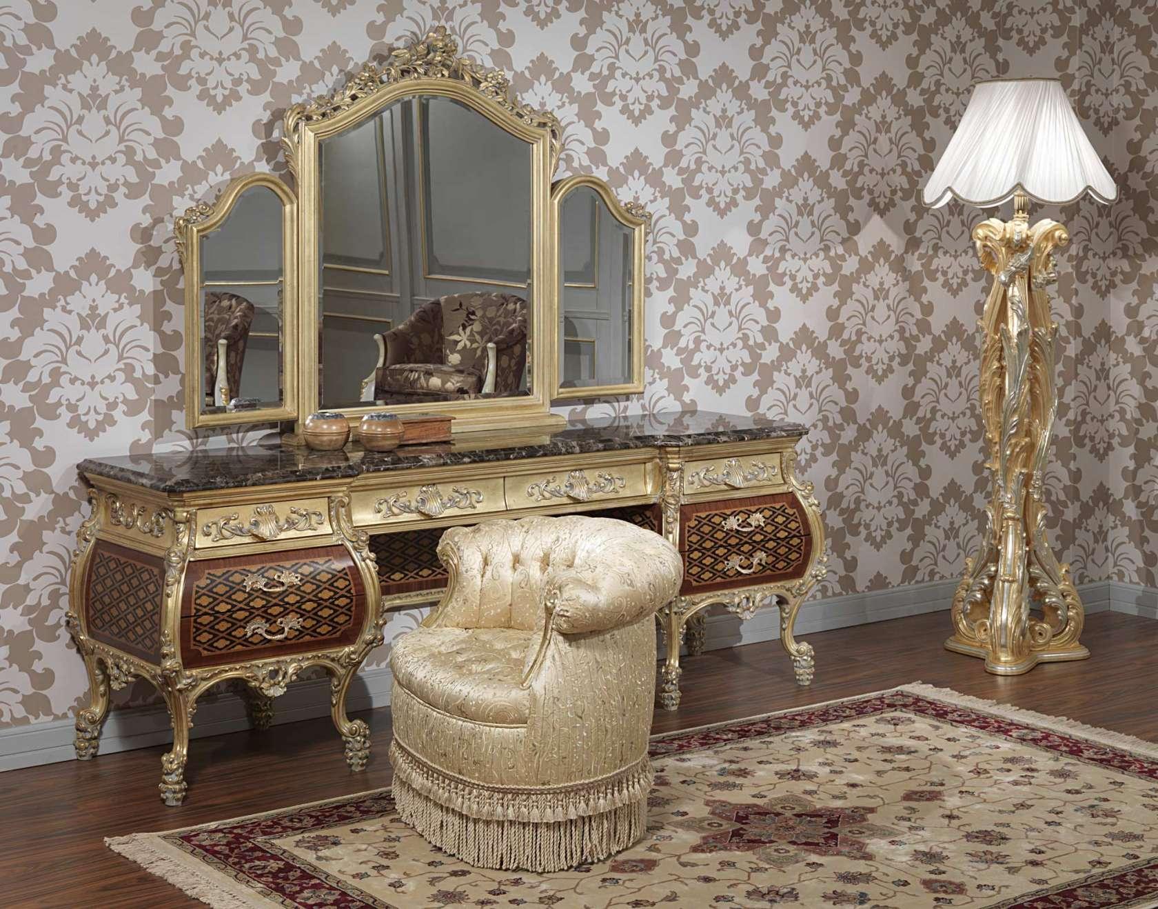 Mobili da camera eleganti emperador gold art 397 931 for Mobili eleganti