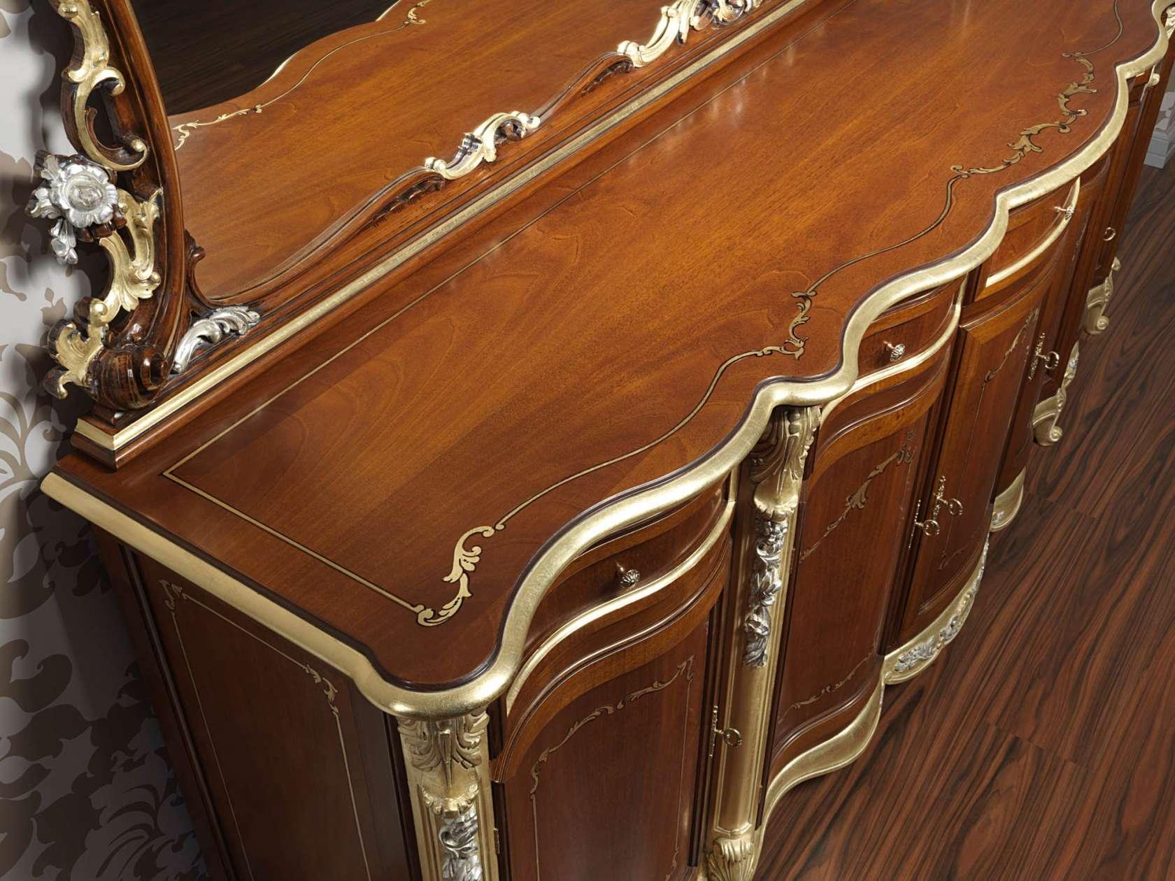 Credenza Per Sala Di Lusso In Stile Classico Luigi XV Vimercati Meda #AE5118 1680 1260 Sala Da Pranzo Luce Calda O Fredda