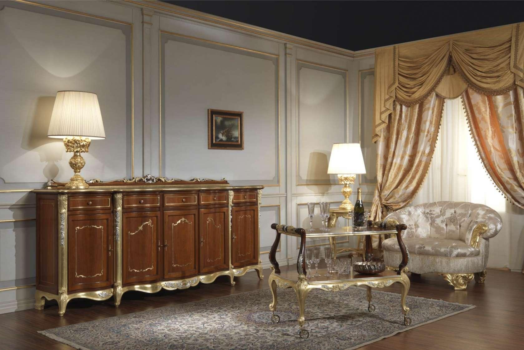 Mobili sala in stile classico Luigi XV | Vimercati Meda