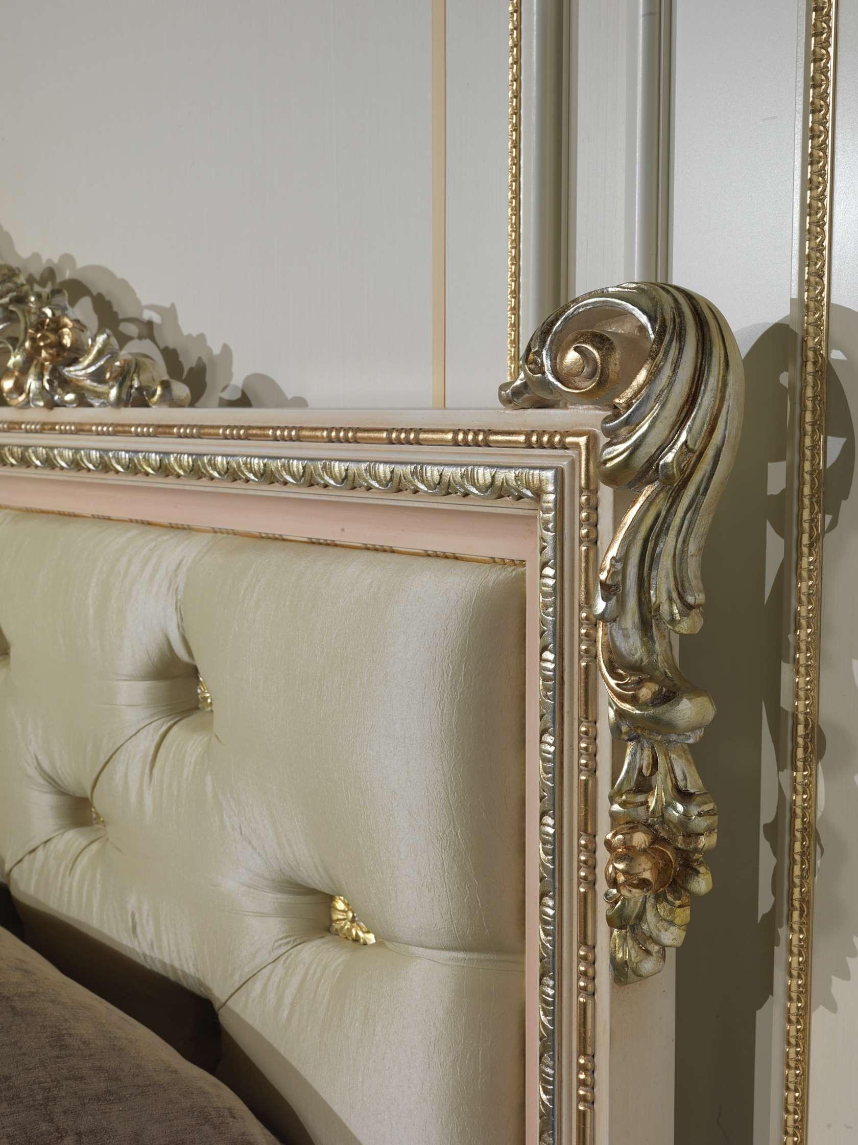 Testiera letto lusso camera classica louvre 943 - Testate letto imbottite classiche ...