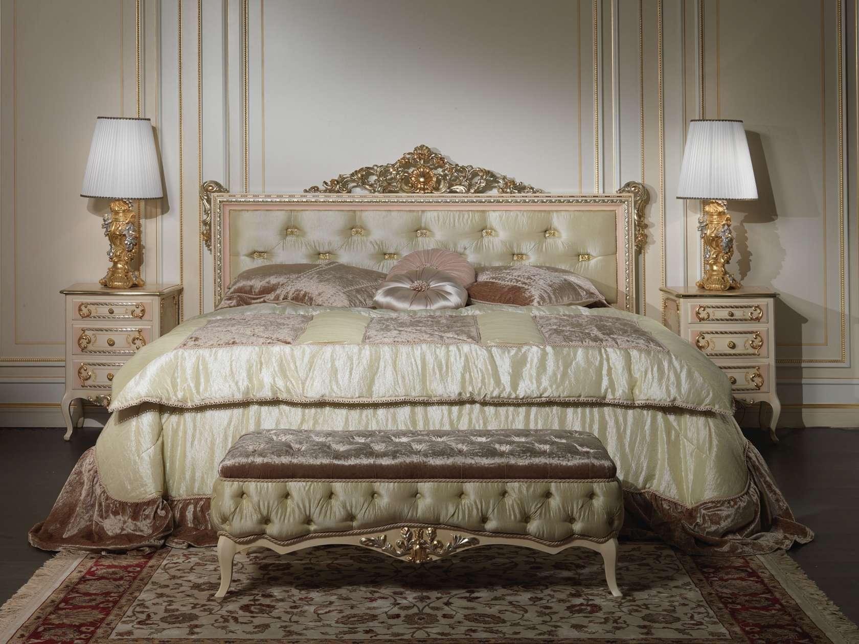 Letto matrimoniale stile classico Louvre 943 | Vimercati Meda