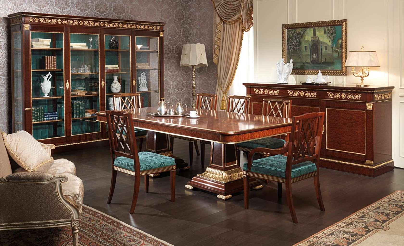 Sala da pranzo Ermitage in stile impero | Vimercati Meda