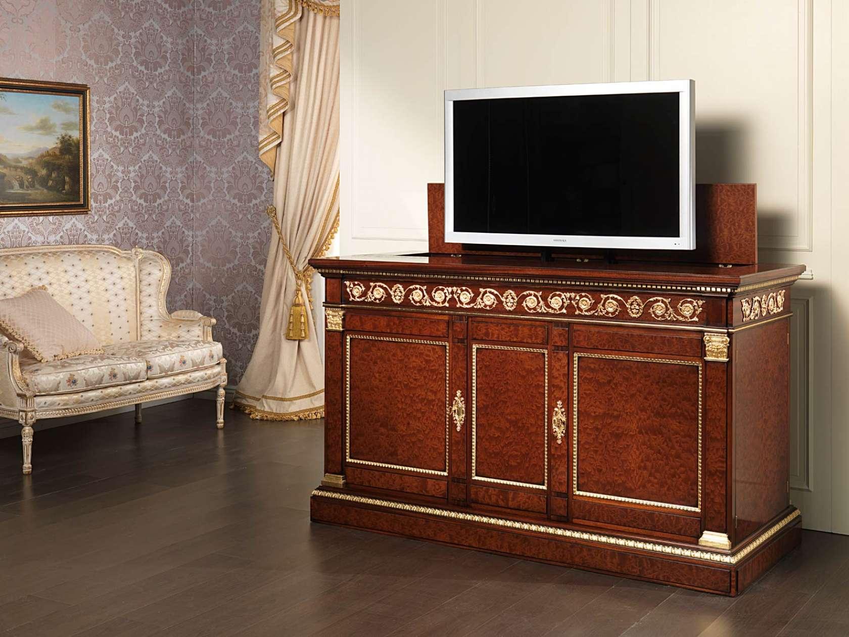 Porta tv classico in mogano vimercati meda - Porta tv classico ...