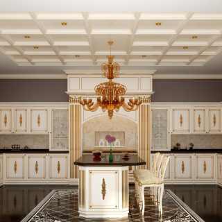 Cucina su misura classica di lusso Olga