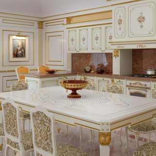 Cucina classica di lusso modello Veruska