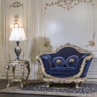 Poltrona classica di lusso