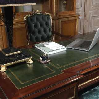 Poltrona per ufficio in stile classico