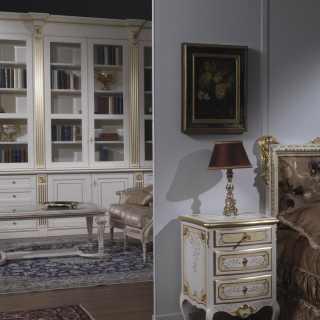 Comodino e soggiorno classico