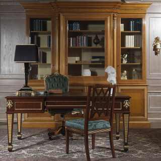 Libreria per ufficio in stile classico