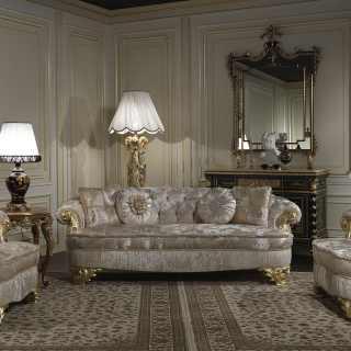 Divani esclusivi classici Parigi