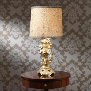 Lampada in stile classico barocco