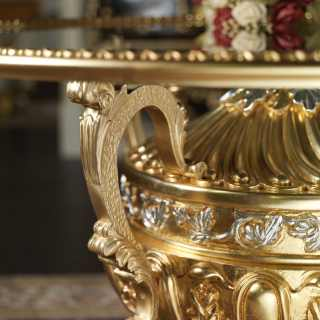 Tavolo di lusso classico in cristallo