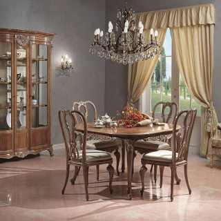 Classic living room Parigi, Luigi Xv style
