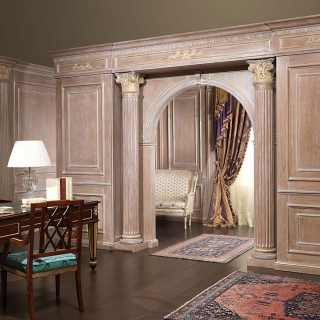 Boiserie and doors on project