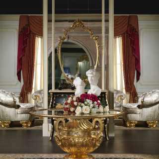 Tavolo di lusso in cristallo