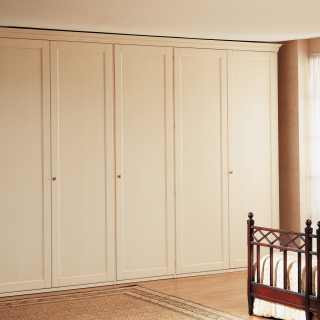 Five doors classic wardrobe from the italian luxury furniture collection