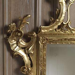 Specchio classico consolle di lusso