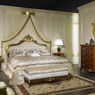 Letto classico matrimoniale Luigi XV Francia