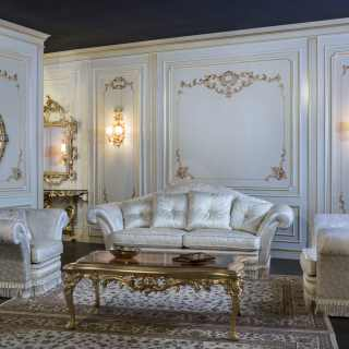 Divano e poltrone salotto di lusso